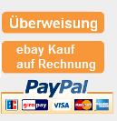 Akzeptierte Zahlungsmethoden