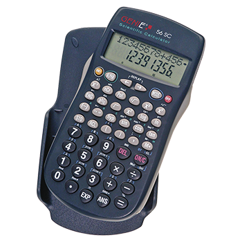 Technical-scientific calculator with 228 functions and 10 digit display