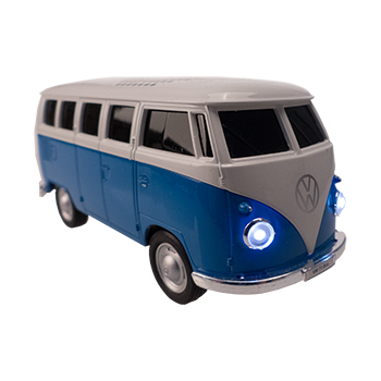 VW Bus Bluetooth Speaker, blue