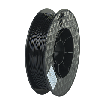 3D printer PLA filament (2x500g, 1.75mm)  Color: black