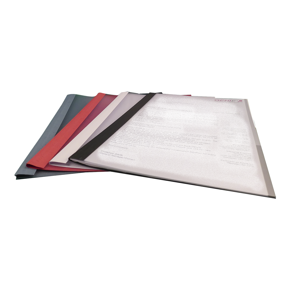 50 folders in a set in 4 different colors and widths, pack of 50
