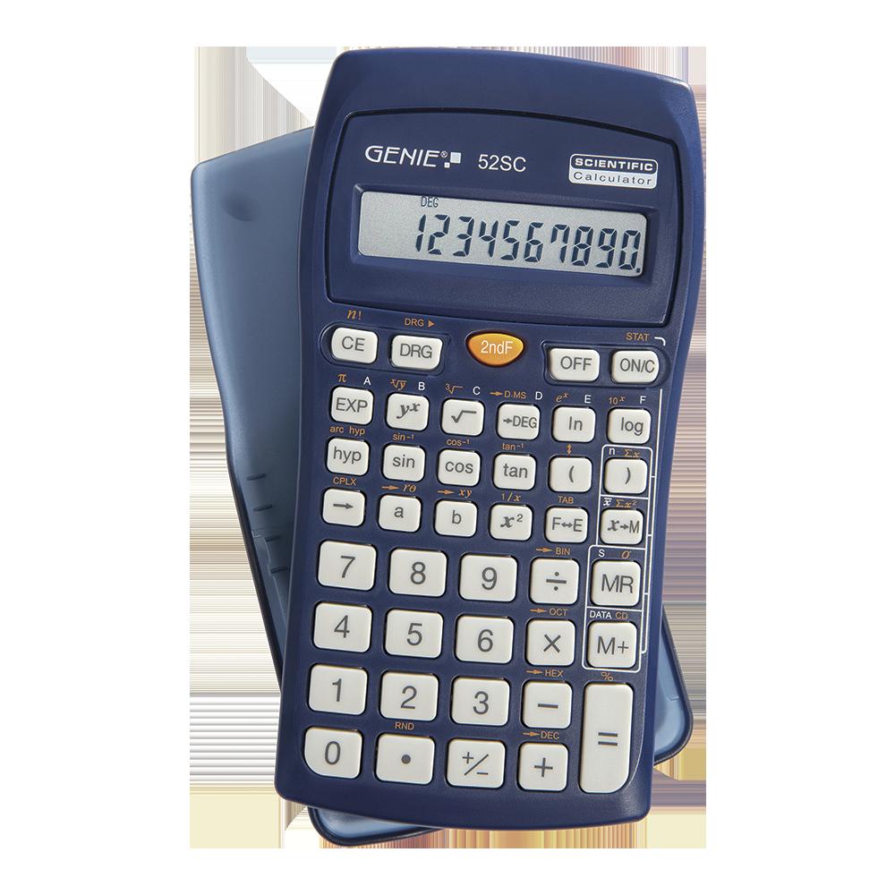Technisch-wissenschaftlicher Rechner mit 136 Funktionen und 10 stelliges Display