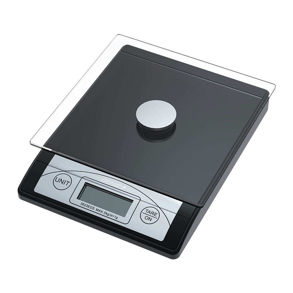 Digital letter scales from 1 g to 5000 g