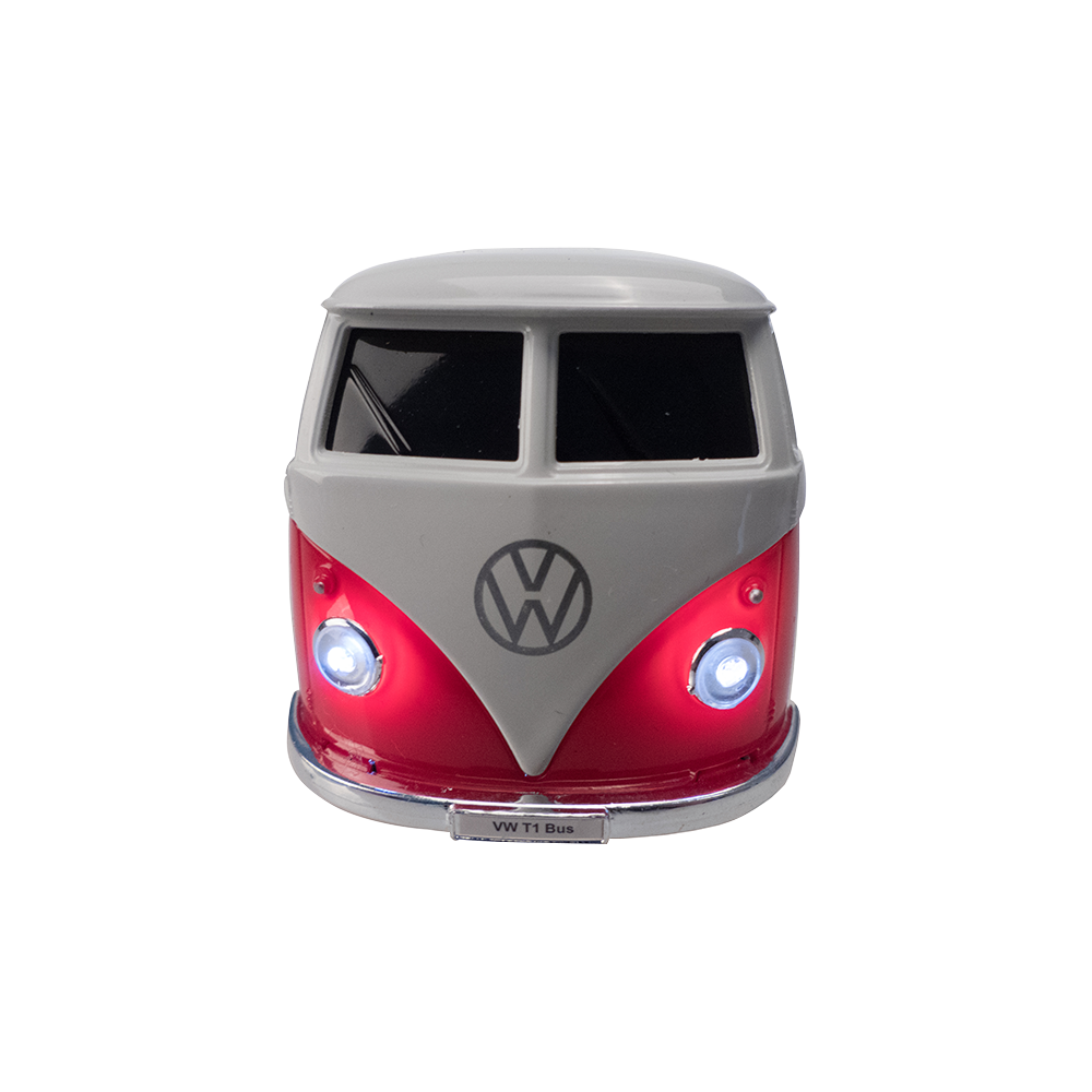 VW Bus Bluetooth Speaker, red