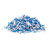Auto feed Papershredder, 100 sheets cross cut
