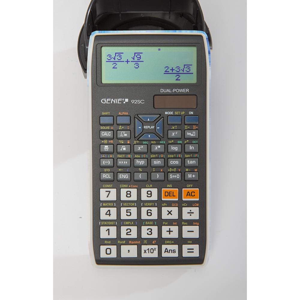 Technisch-wissenschaftlicher Rechner mit 580 Funktionen