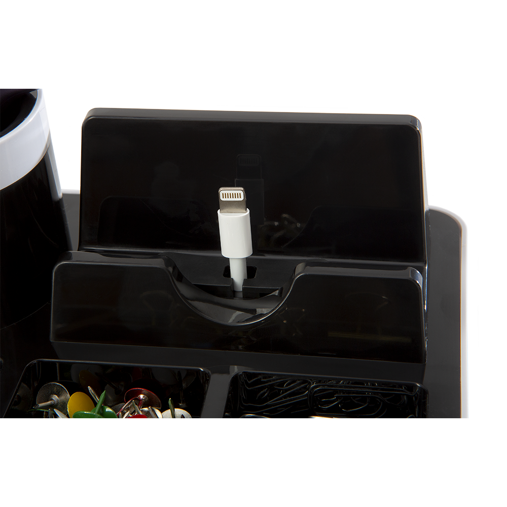 Desk Organizer Desk-Butler with charging possibility
