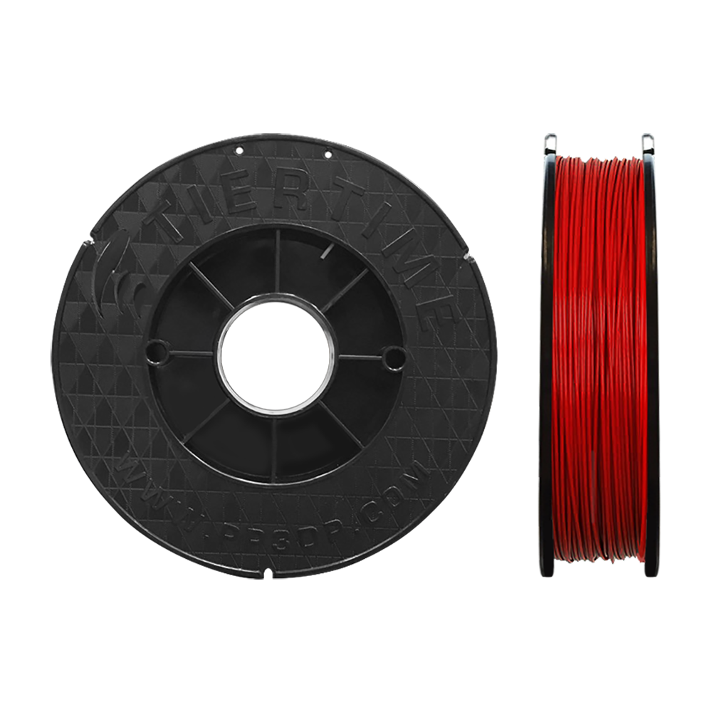 3D printer ABS filament (2x500g, 1.75mm)  Color: red