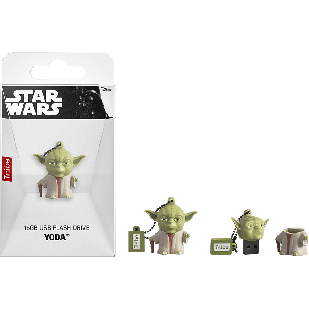STAR WARS YODA THE WISE  USB Memory Stick: 16GB