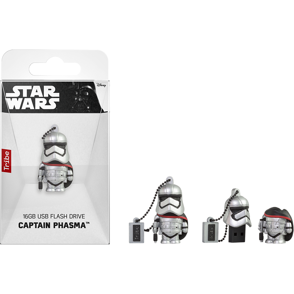 STAR WARS TFA Captain Phasma  USB Memory Stick: 16GB