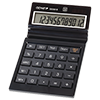 12-digit desktop calculator with dual power (solar and battery)