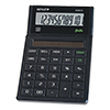 12-digit pocket calculator with solar power