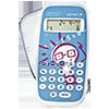 10-digit calculator, white