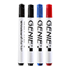 Whiteboard marker set (non permanent, in PVC bag, assorted colors) 4 pieces