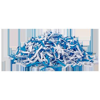 Papershredder, 6 sheets cross cut
