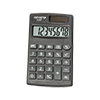 8-digit pocket calculator with dual power (solar and battery)