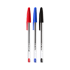 GENIE Ballpoint pen, sorted Content: 20 x black, 20 x blue and 10 x red