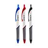 Ballpoint pen, Colored Sorted, Pack of 12, 5 x black, 5x blue and 2 x red