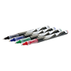 Ink roller Colored sorted Pack of 12: 4 x black, 4 x blue, 2 x red and 2 x green
