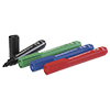 Permanent marker,  sorted, with 1-3 mm round tip,  Pack of 4. Packing: 1 x black, blue, red and green